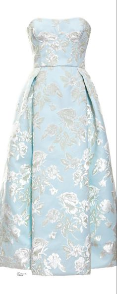 Rochas ● SS 2014, Duchesse Strapless Dress