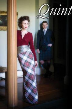 Tartan skirt from Lochcarron of Scotland