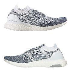 55a478d746781 ADIDAS ULTRA BOOST UNCAGED MEN s RUNNING PRIMEKNIT MON DYED - WHITE - NAVY  NEW