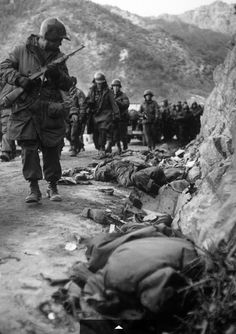 Korean War, this wasn't to long ago. I'm sooo proud of the country I'm from, they made so much of so little! Inspiration at its finest : )