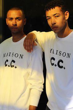 MAISON C.C. Sweatshirt white