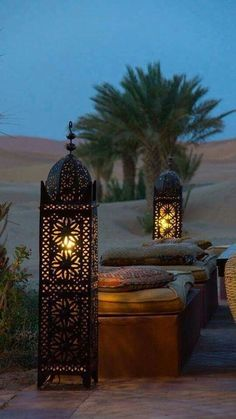Take a look at these Moroccan Interior Design Ideas for inspiration. Moroccan style living room furniture suggestions that will create an authentic Moroccan feel. Moroccan Floor Lamp, Morrocan Decor, Moroccan Lanterns, Moroccan Lighting, Modern Moroccan Decor, Modern Lamps, Modern Boho, Modern Lighting, Marrakech