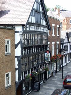 The Bear and Billet pub, Bridge Street, Chester. My old drinking haunt.