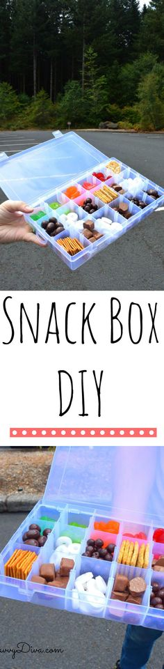 Best Road Trip EVER – Snack Box DIY - This is perfect for Road Trips - I made it and it was perfect! #RoadTripHacks ad #Safeway Make sure to enter the giveaway too!