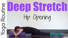 Sara Beth Yoga: Hip opening is always a favorite! Try this routine with props to relax into position for ever deeper stretches :)