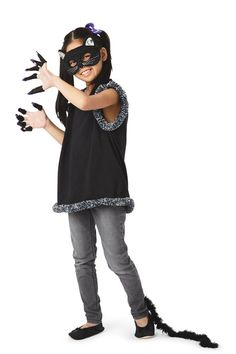 Glitter & Ghouls: Child Kitty Halloween Costume