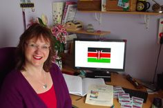 Rachel Henderson hosted a Kenya themed ball in Exeter!