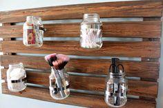 #DIY Pallet Multi Functional Organizer | Pallet Furniture