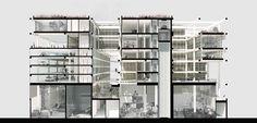 Resultado de imagem para architecture cross section