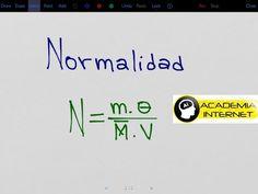 Calcular la Normalidad de una solución de HCL que tiene 20 gramos de HCL en 500 mL de solución. - YouTube