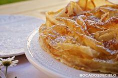 Bocadosdecielo: Tarta ruffle milk pie