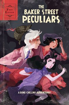 The Baker Street Peculiars #1 - Variant cover by Hannah Christenson