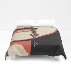 Up to $34 Off + Free Shipping on All Bedding - Sale Ends tonight at Midnight PT! Cover yourself in creativity with our ultra soft microfiber duvet covers. Hand sewn and meticulously crafted, these lightweight duvet covers vividly feature your favorite designs with a soft white reverse side. A durable and hidden zipper offers simple assembly for easy care - machine washable with cold water on gentle cycle with mild detergent. Available for King, Queen, Full, Twin and Twin XL duvets - duvet…