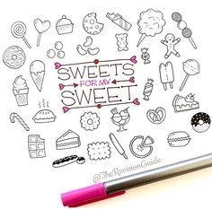 Sweets doodles