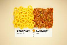Pantone de comida italiana