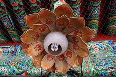 lotus lamp Seoul, South Korea