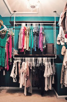 How To Build An Industrial Chic Closet Organizer (Part 2) – AKA. My Closet Is Still Cooler Than Me. | Domestiphobia