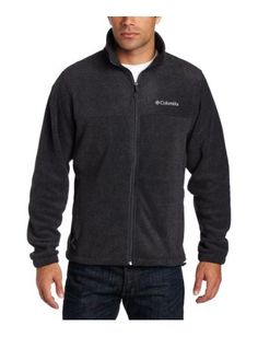 Columbia Men Steens Mountain Full Zip 20 Fleece Jacket Charcoal Heather Small The next generation of a Columbia classic this outdoor staple features a finely tuned fit and a soft-yet-rugged filament-fleece fabrication...