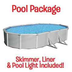"Samoan 52"" Deep Oval Above Ground Pool! 30-year limited warranty."