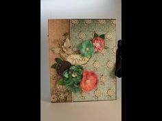 ▶ Part 1 - Learn to Make a Mini Album - Designs by Shellie - YouTube