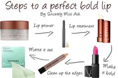 The Perfect Bold Lip