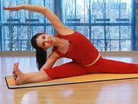 Стретчинг для начинающих: растягиваем мышцы ног - видео - мастер-класс
