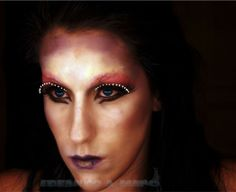#maquillaje para #carnavales #mascara terror