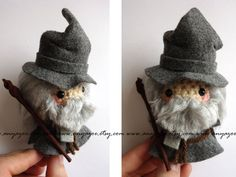 """Gandalf from, """"The Hobbit"""". Visit me on facebookwww.facebook.com/pages/Little-…My Etsy shop:www.etsy.com/shop/AnyaZoe?ref=… Thanks for looking!"""