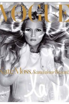PARIS VOGUE - DECEMBER 2005 / JANUARY 2006 COVER MODEL - KATE MOSS (VERSION 3)