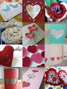 lots of valentine crafty ideas