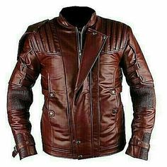 Star Lord Guardians Of The Galaxy 2 Faux Leather Jacket Brown Leather Jacket Men, Faux Leather Jackets, Revival Clothing, Poker Online, Star Lord, Fashion Design Sketches, Fashion Night, Mens Fashion, Blazer