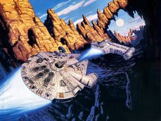 Star Wars por Tim y Greg Hildebrandt