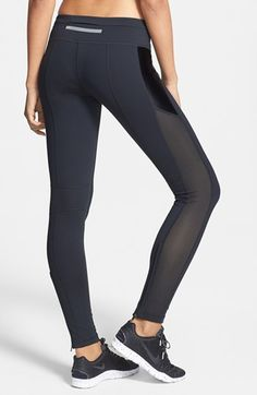 Mixed media running tights @Nordstrom  http://rstyle.me/n/i9x9dnyg6