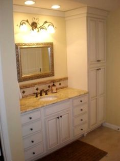 Bathroom Vanity And Linen Cabinet bathroom linen cabinets bathroom eclectic with none | parade