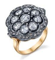 Amrapali Flower and Diamond Ring