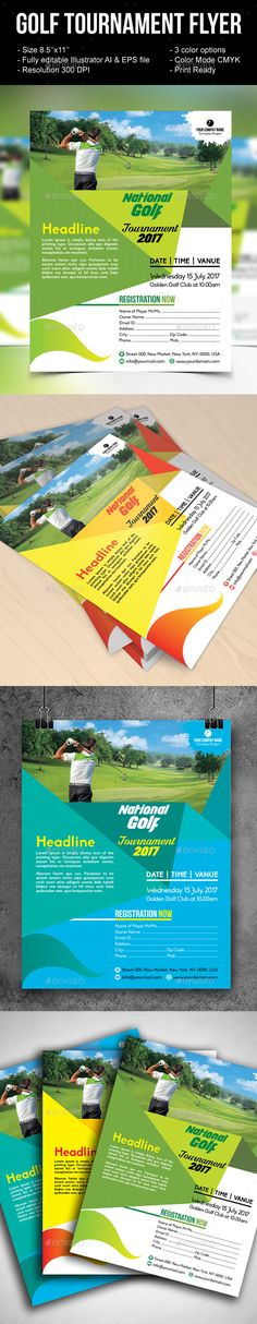 Awesome Golf Tournament Flyer Psd Images  TyS Golf Event
