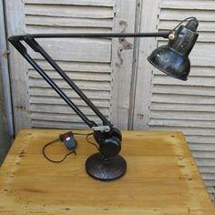 Vintage Admel Fingerlite Angelpoise Lamp - The Hoarde