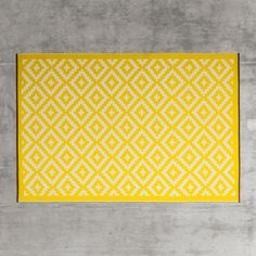 Yellow Ganado Rugs - View All Walls & Floors - Wall & Floors - Home Accessories