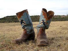 Custom-made cowboy boots that I love. I should start saving my pennies.