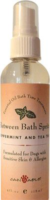 This all natural spray keeps your dog smelling fresh even when there is no time for a bath! It's perfect if you have company coming over or you haven't been able to get to the groomer. Pure essential oils provide benefits to the skin while neutralizing odors. A quick spritz is all it takes to keep your dog smelling fresh and happy.   Pure essential oils leave a pleasant aroma while naturally repelling bugs and fleas.     Safe, gentle and effective for even the youngest puppy