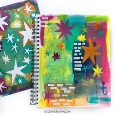 "StencilGirl is enchanted to present 6 new large 9"" x 12"" stencils and 1 stencil/mask combo by Carolyn Dube!"