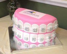 Orthodontist Open House cake
