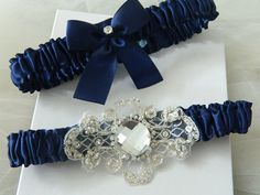 blue garters