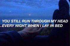 Imagen de grunge, quote, and night
