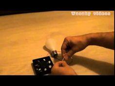 Így kell ingyen világítást csinálni a lakásodba. - YouTube