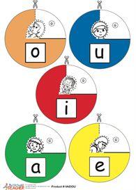 The Vowels - Montessori School | eBooks | Children's eBooks
