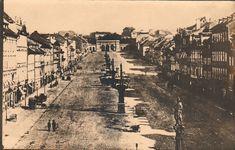 Reach, Zikmund - Václavské náměstí v roce 1875 (Wenceslas Square in 1875), gelatin silver print