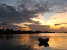 Ada Foah sunset by Tim, Tamale, Ghana. via Flickr