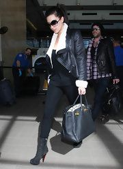 Kim Kardashian Studded Boots