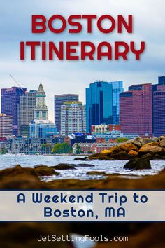 A weekend trip to Boston is a fabulous quick getaway – and we designed the perfect Boston itinerary for travelers who want to see the best of the city! Packed with iconic sights, fascinating history and local cuisine, a weekend in Boston is an ideal trip for people who love to experience diverse and exciting places. Usa Travel Guide, Travel Usa, Travel Guides, Travel Tips, Travel Articles, Budget Travel, Vacation Places In Usa, Road Trip Usa, United States Travel